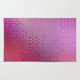 Trinity Pattern (pretty pink) Rug
