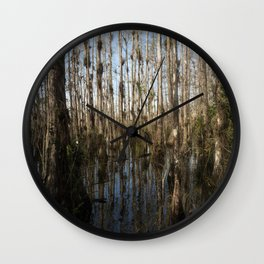 swamp Wall Clock