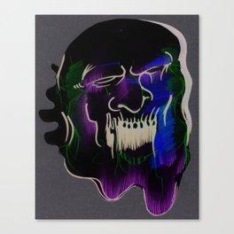 Face Illustration 6 Canvas Print