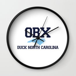 Duck - North Carolina. Wall Clock