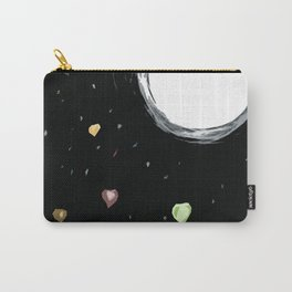 Raining Hearts - Blooming Flower-Valentine's day Carry-All Pouch