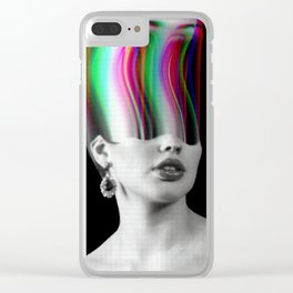 The Glitch Experience Clear iPhone Case
