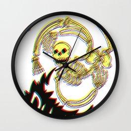 Skeleton Bro 3D Wall Clock