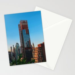 manhattan afternoons II Stationery Cards