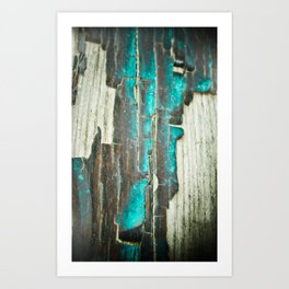Weathered and Worn Art Print
