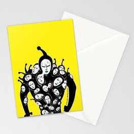 Golden Sperm from manga One-punch man Stationery Cards