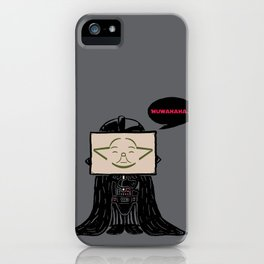 Current Status (Dark Side) iPhone Case