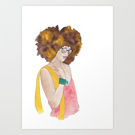 Sunshine Queen Art Print