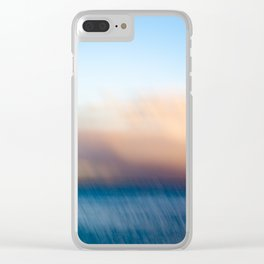 Sunset after the rain Clear iPhone Case