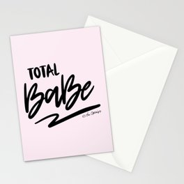 Total Babe Quote Stationery Cards