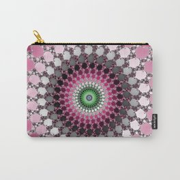 Fractal Spin Carry-All Pouch