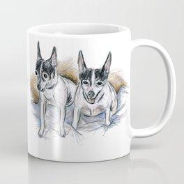 Two Toy Fox Terriers Coffee Mug