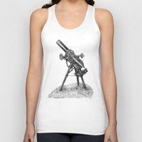 moonrise Tank Tops featuring Moonrise by Eric Fan