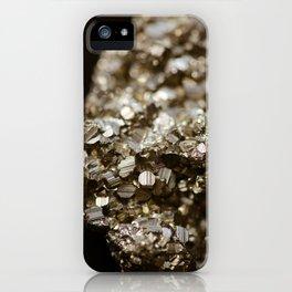 Pyrite Study iPhone Case