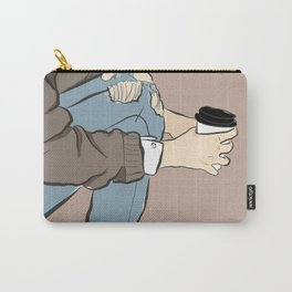 Fashion Latte To Go Carry-All Pouch