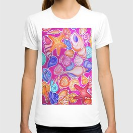 Colorful Seashells T-shirt