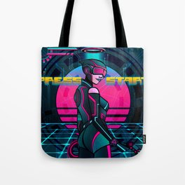 NEO-GODS : Video Games Tote Bag