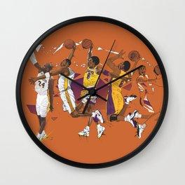 Mamba Mentality Wall Clock