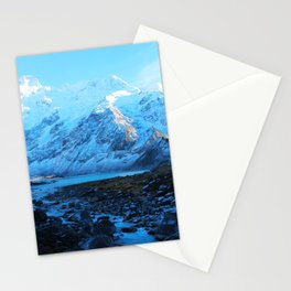 Mount Cook, New Zealand Stationery Cards