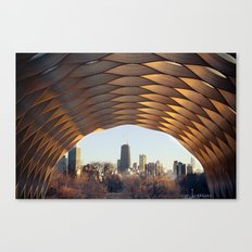 People's Gas Pavilion in Chicago's Lincoln Park Canvas Print