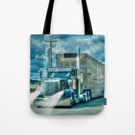 The Cattle Truck Tote Bag