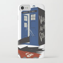 Where no one goes iPhone Case
