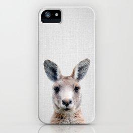 Kangaroo - Colorful iPhone Case