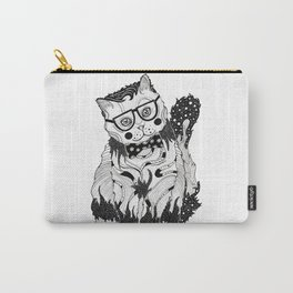 Super Intelligent Cat Carry-All Pouch