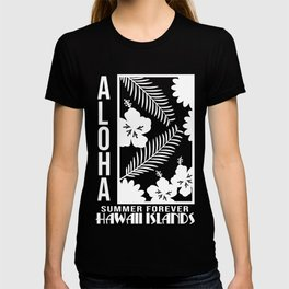 Fresh Hawaiian Style Tshirt Design Hawaii Island T-shirt