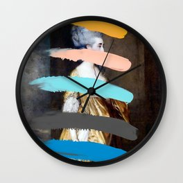 Composition 736 Wall Clock
