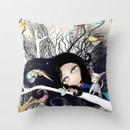 Joy Nature Pet Light Moonlight Throw Pillow