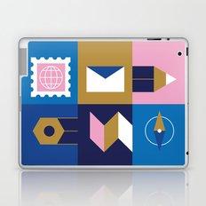 Travel Postcard Laptop & iPad Skin