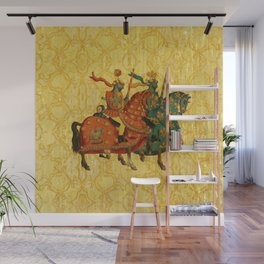 Royal Kings - Medieval Gold Pattern Wall Mural