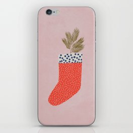 CHRISTMAS SOCK iPhone Skin