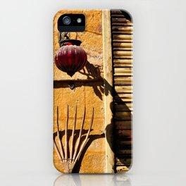 Street life, Rajasthan, India iPhone Case