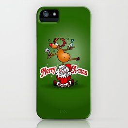 Merry X-mas iPhone Case