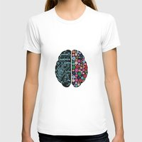 brain T-shirts featuring Brain by BlueLela