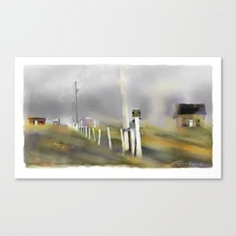 Approaching Storm / Northwest Cape / P.E.I Canvas Print