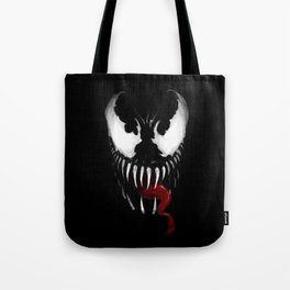 Venom, Spider man Enemie Tote Bag