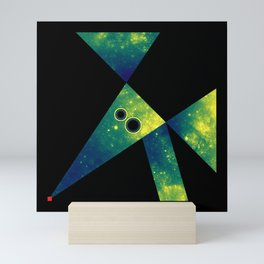 Mouse, Exploring Space Mini Art Print