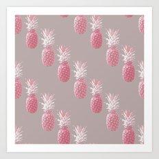 Pineapple Blush D1 Art Print