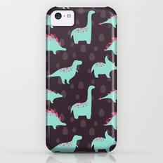 Funny dinosaurs iPhone 5c Slim Case