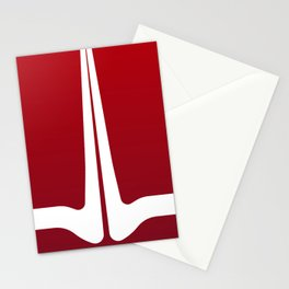 Striped Tomato Stationery Cards