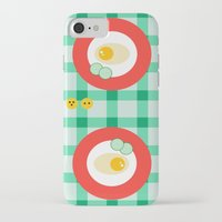 breakfast iPhone & iPod Cases featuring breakfast by vitamin