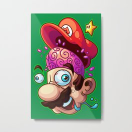Super Shroomed Metal Print