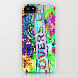 Psychedelic Lovers Lane  iPhone Case