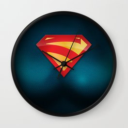 SUPERGIRL SUIT Wall Clock