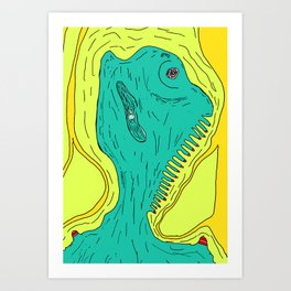Trill Art Print