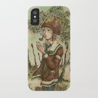 wesley bird iPhone & iPod Cases featuring Wesley by kenta.s