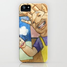 Handy little accidents iPhone Case